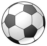 サッカーボール イラスト素材
