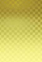 金箔風・市松模様背景素材