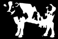 乳牛イラスト素材