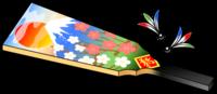 羽子板と羽根イラスト素材